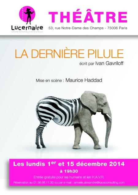 Affiche Lucernaire